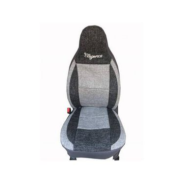 Car Seat Cover For Honda City ZX-Black & Grey - CAR_11002