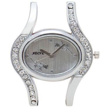 Adine Analog Wrist Watch For Women_Ad1242bks - Silver