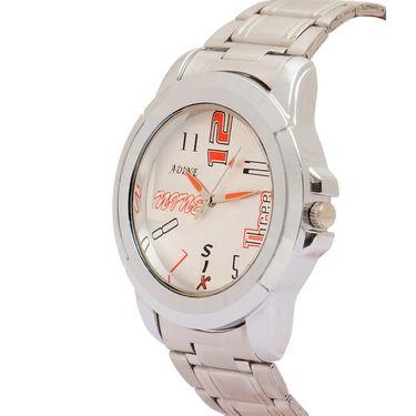 Adine Analog Wrist Watch For Men_Ad52002s - Silver