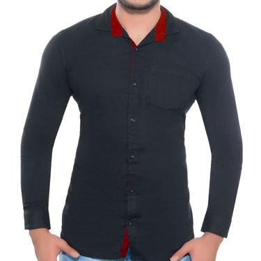 Pack of 3 Plain Cotton Shirts_Ahds464445
