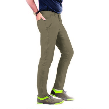 Uber Urban Cotton Trouser_ub26 - Brown