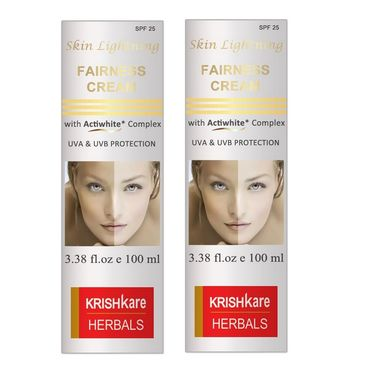 Pack of 2 Skin Lightning Cream with ActiWhite Complex (UVA, UVB Protection)