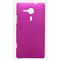 Snooky Dark Pink Hard Back Cover For Sony Xperia Sp M35h C5302 Td9784