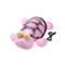 Home Smart Snail Night Lamp With Usb - Pink