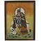 Little India Divine Lovers Radha Krishna Gemstone Painting