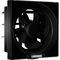 Luminous Vento Deluxe 200mm Exhaust Fan - Black
