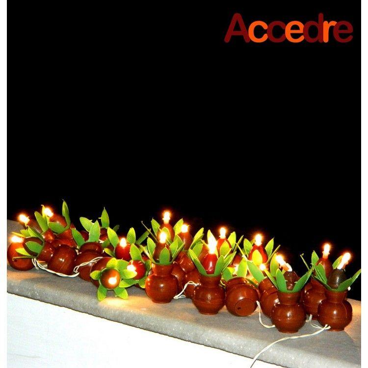 Branded Accedre Subh kalash Diya Decorative Diwali Ladi ...
