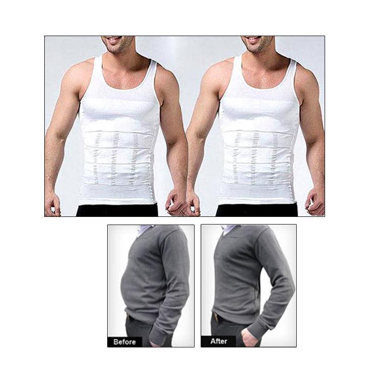 Buy Get In Shape Slimming Vest for Men - Pack of 2 Online ...