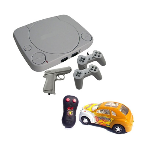Buy Combo Of Kids Tv Video Game With Gun Powerful Rc