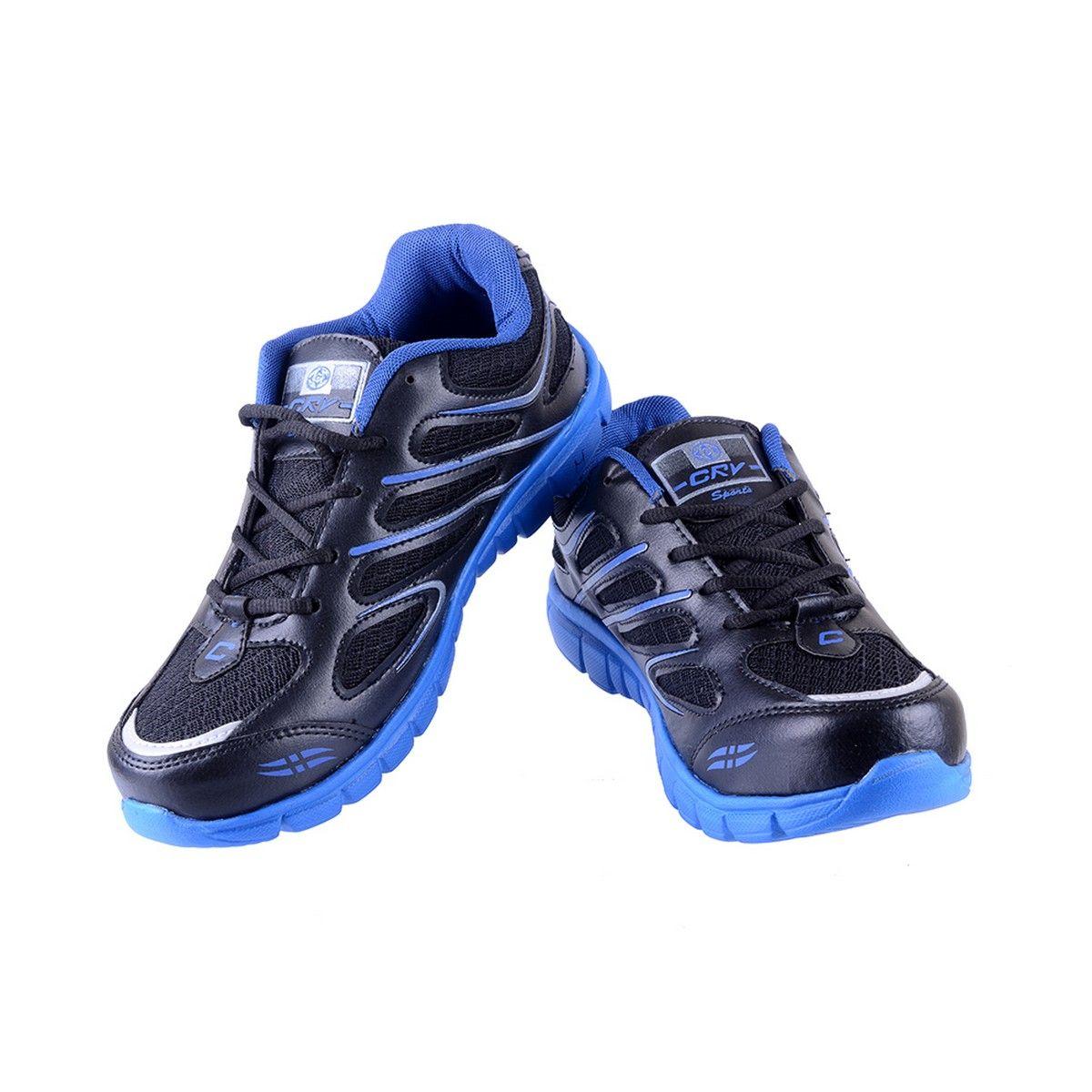 porcupine synthetic sports shoes pn sh ss bk bl black