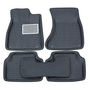 Branded 3D Car Bucket Tray Footmat For Duster - Black