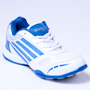 Columbus PU Sports Shoes - White & Blue-1935