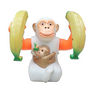 Funny Monkey -Skiping, Jumping, Tumbling 360 Degree Rotating with Light & Sound