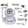 Suneyes Wireless + LAN Wi-Fi PT IP CCTV Camera Webcam Supports Dynamic IP AV CMOS (White)