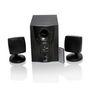 TECH-FI 2.1 TF-2200UF Multimedia Speaker with FM, USB and Remote Control - Black