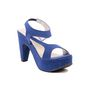 Ten Suade Leather 272 Women's Wedges and Platforms - Blue