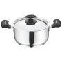 Vinod Cookware 202 Tivoli Casserole with lid 18 cm TIV-C-18