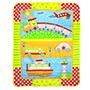 Wonderkids Printed Fleece Blanket - Multicolor - MW057-VEHPRI