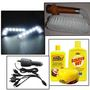 Combo of 7 in 1 charger with + Carnauba Car Care Pack + Seat & Roof Duster + Daytime running LED
