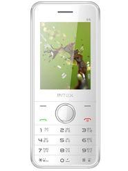 Intex Turbo S5 Dual SIM Mobile Phone - White & Silver