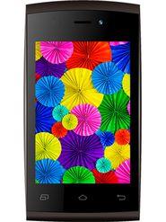 Intex Aqua V3 Smart Mobile Phone - Brown