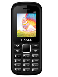 I Kall K55 1.8 inch Dual Sim Mobile - Black & White