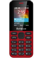 Hitech Yuva Y1S Dual Sim Mobile - Red