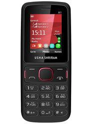 Usha Shriram A1 Feature Phone(Dual Sim,Black)