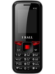 I Kall K16 Dual Sim Mobile Phone - Black & Red