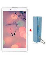 Comb of I Kall IK1 3G Calling Tablet (RAM : 1GB ROM : 4GB) With 2000 mAh Powerbank