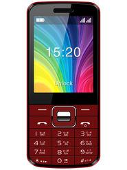 Videocon Virat V3AB Dual SIM Feature Phone (Black Red)