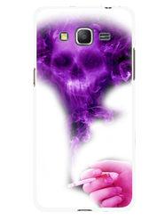 Snooky Designer Print Hard Back Case Cover For Samsung Galaxy Core Prime G360H - Purple