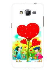 Snooky Designer Print Hard Back Case Cover For Samsung Galaxy Core Prime G360H - Multicolour