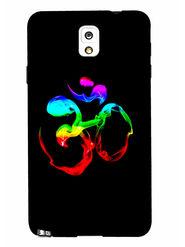 Snooky Designer Print Hard Back Case Cover For Samsung Galaxy Note 3 - Black