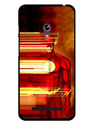 Snooky Designer Print Hard Back Case Cover For Asus Zenfone 4.5 - Red