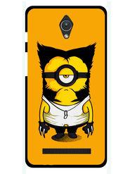 Snooky Designer Print Hard Back Case Cover For Asus Zenfone C ZC451CG - Yellow