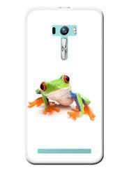 Snooky Designer Print Hard Back Case Cover For Asus Zenfone Selfie ZD551KL - White