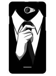 Snooky Designer Print Hard Back Case Cover For HTC Desire 516 - Black
