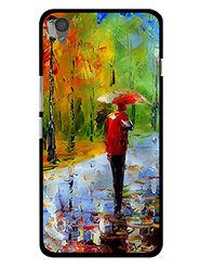 Snooky Designer Print Hard Back Case Cover For OnePlus X - Multicolour