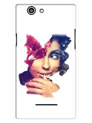 Snooky Designer Print Hard Back Case Cover For Xolo A500s - Multicolour