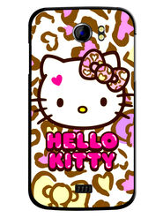 Snooky Designer Print Hard Back Case Cover For Micromax Canvas 2 A110 - White