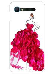 Snooky Designer Print Hard Back Case Cover For Intex Aqua Y2 pro - Pink
