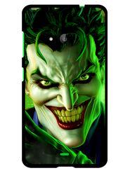 Snooky Designer Print Hard Back Case Cover For Microsoft Lumia 535 - Green