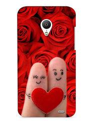 Snooky Digital Print Hard Back Case Cover For Meizu MX3 - Red
