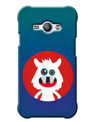 Snooky Digital Print Hard Back Case Cover For Samsung Galaxy J1 Ace - Blue