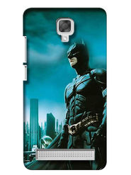 Snooky Digital Print Hard Back Case Cover For Micromax Bolt Q331 - Blue