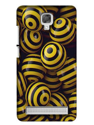 Snooky Digital Print Hard Back Case Cover For Micromax Bolt Q331 - Yellow
