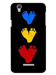 Snooky Digital Print Hard Back Case Cover For Coolpad Dazen F2 - Black