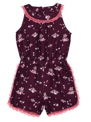 ShopperTree Printed Maroon Viscose Jumpsuit -ST-1633_6-12M
