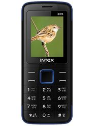 Intex Eco 205 Dual Sim Phone - Black & Blue
